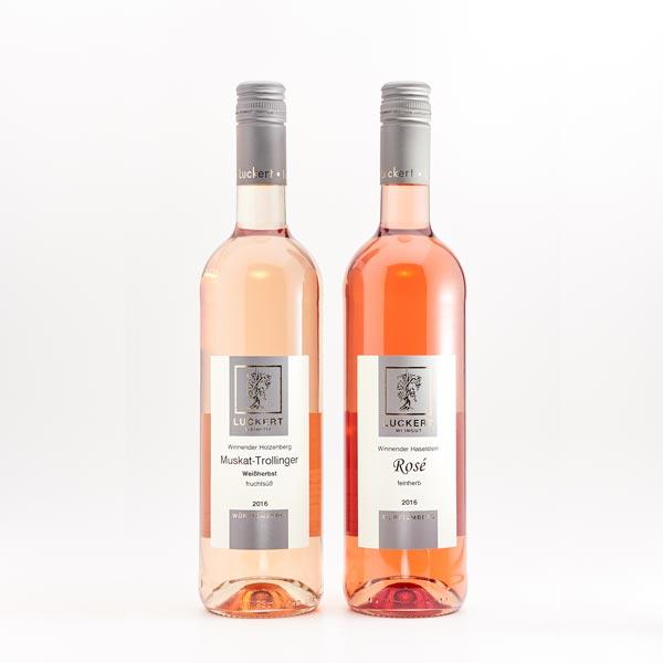 Rosewein und Weissherbst, Weingut Luckert